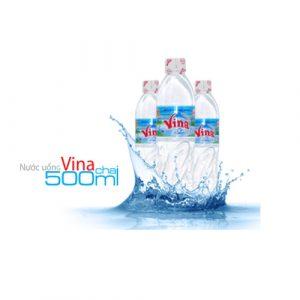 nước uống vina chai 500ml