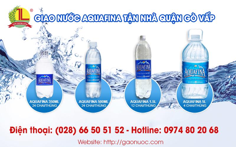 nước aquafina gò vấp