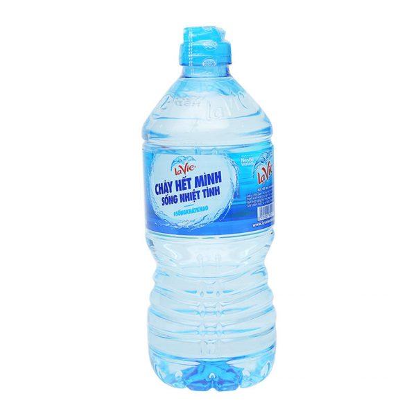 chai nước Lavie 750ml