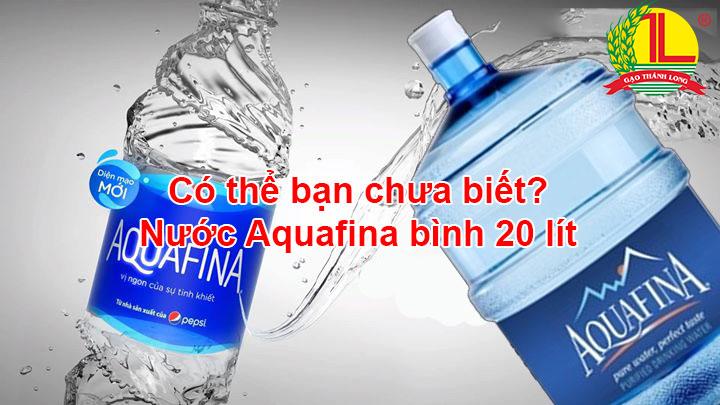 nước Aquafina 20 lít