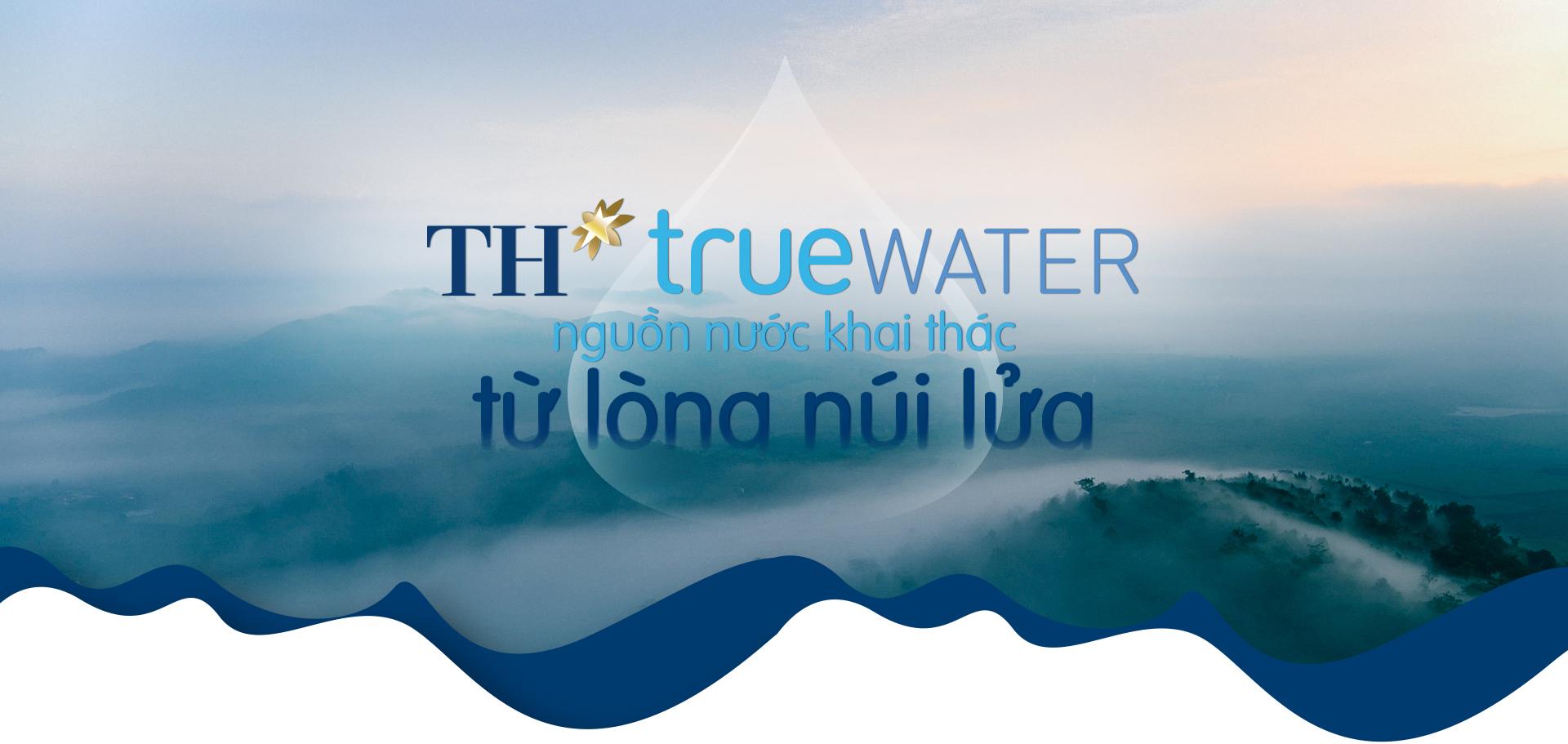 nước uống TH true Water