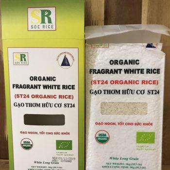 gạo ST24 hữu cơ